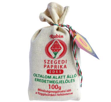 Szegedi Fűszerpaprika őrlemény édes 100 g díszzsák