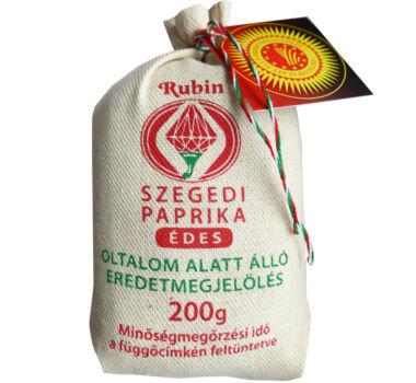 Szegedi Fűszerpaprika őrlemény édes 200 g díszzsák (gasztro)