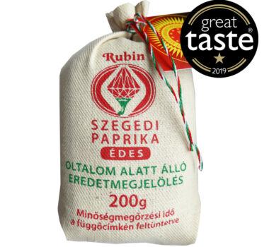 Szegedi Fűszerpaprika őrlemény édes 200 g díszzsák