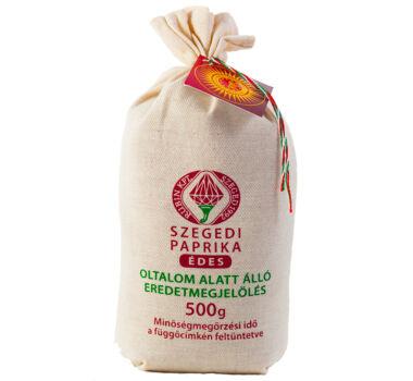 Szegedi Fűszerpaprika őrlemény édes 500 g díszzsák