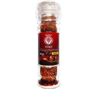 Őrlőfejes Tört fűszerpaprika édes 40 g